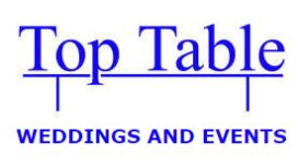 Top Table Weddings & Events